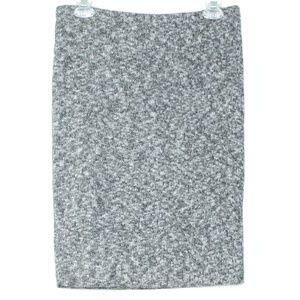 NWT Express Womens Skirt Pencil Gray Medium B2